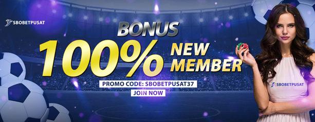 bonus dari register akun sbobet