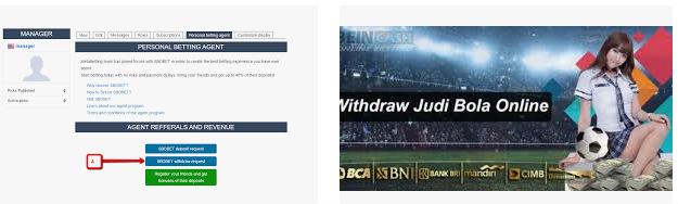 withdraw sbobet yang dilakukan secara online